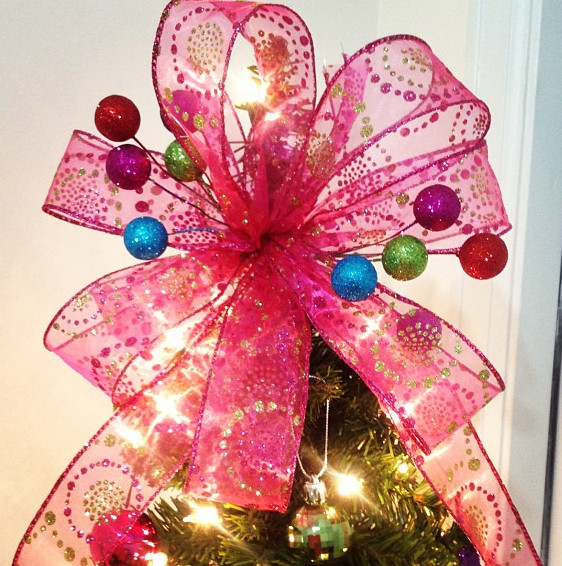 this one was cheaper to make - How To Make A Christmas Tree Topper