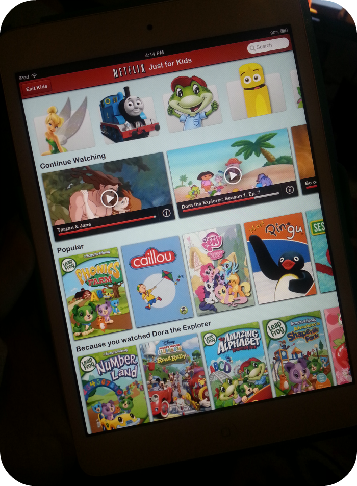 #NetflixKids is a must have for staying sane with a toddler!