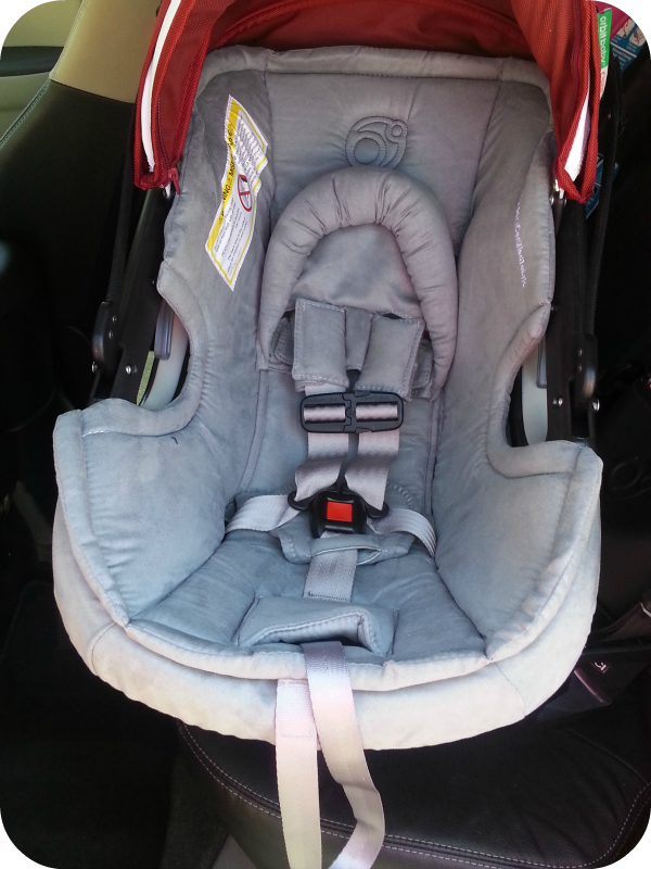 orbit baby g2 infant car seat review the denver housewife. Black Bedroom Furniture Sets. Home Design Ideas