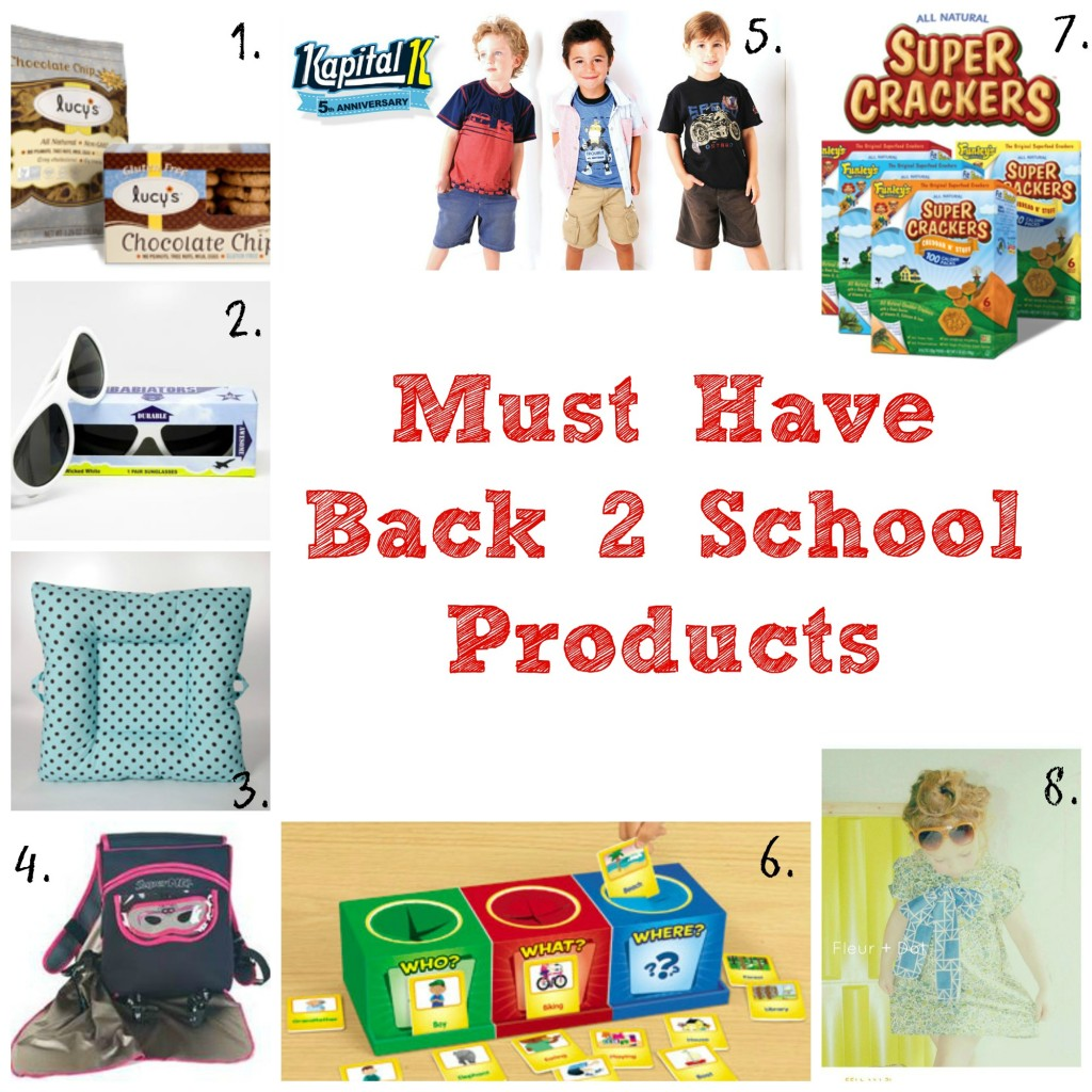 Must Have back 2 school items