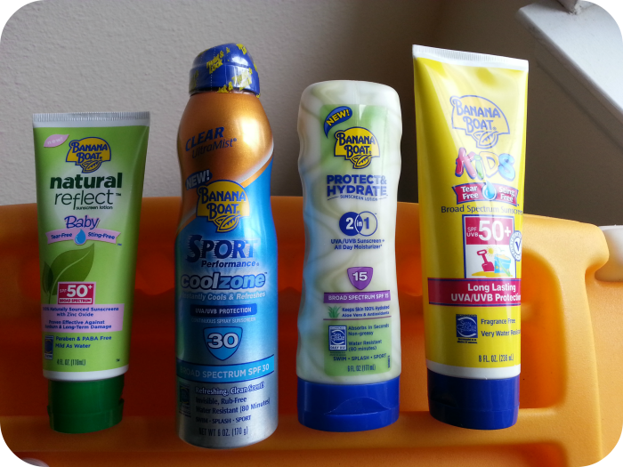 Staying Protected from the Sun with Banana Boat Sunscreen!