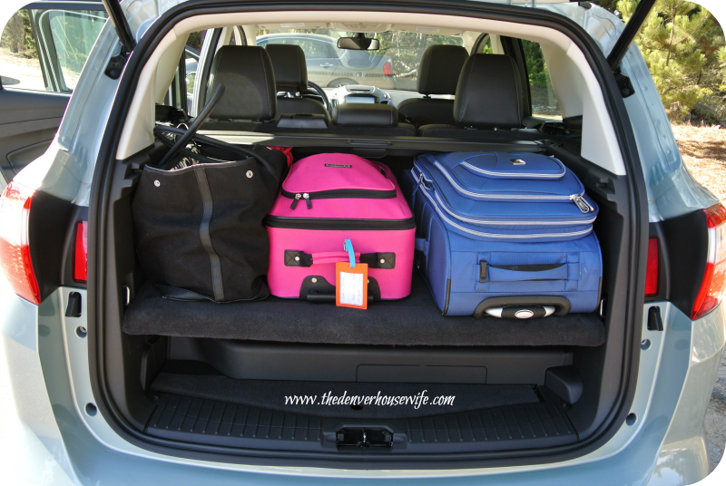 Ford C-Max Trunk Space