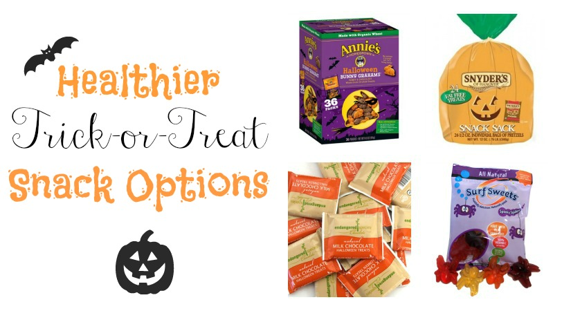 Healthier Trick or Treat Snacks