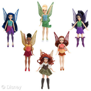 The Pirate Fairy Dolls
