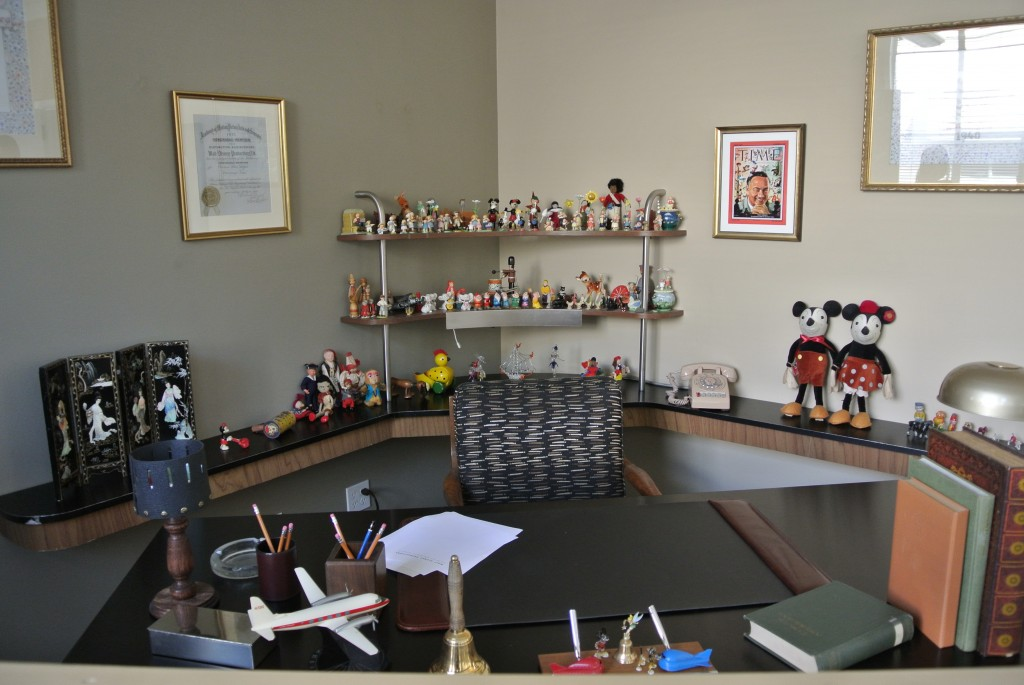 Walt Disney's Desk
