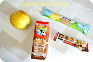 Snacks to Fuel Kids #HorizonB2S