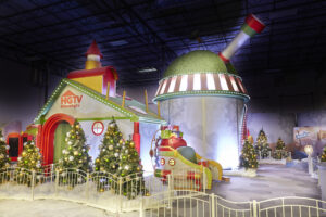 Santa HQ Set from HGTV