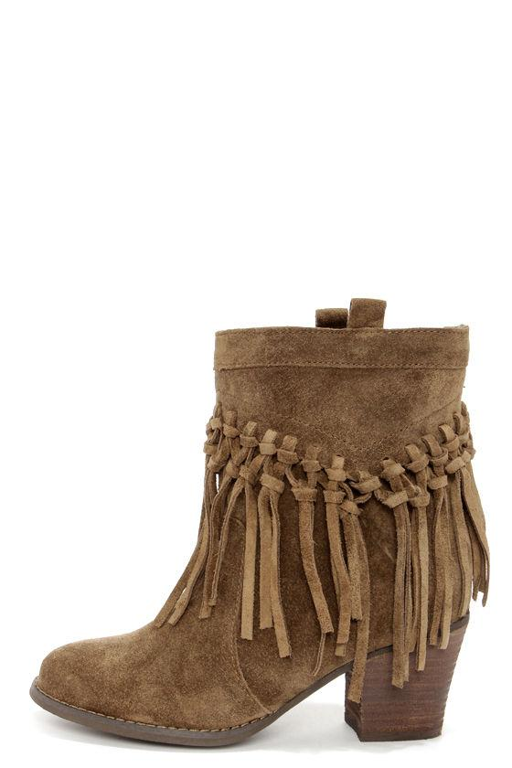 Lace Wrapped Boho-Style Boots