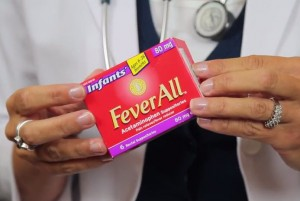 FeverAll® Infants' Strength Suppositories