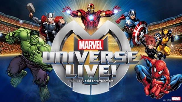 #MarvelUniverseLive