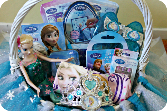 #DisneyEaster FROZEN Easter Basket