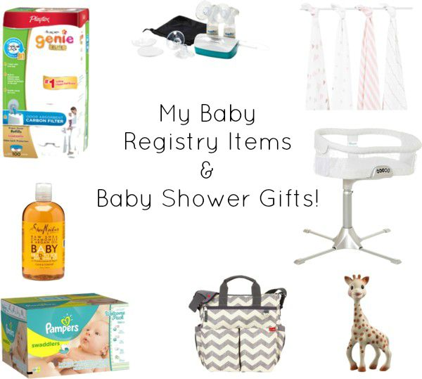 Baby shower registry list ideas