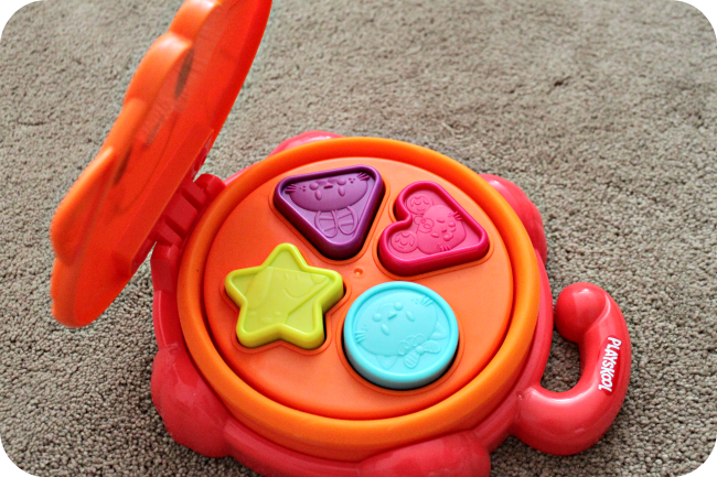 Learning Colors Amp Shapes With Playskool S Pop Up Shape