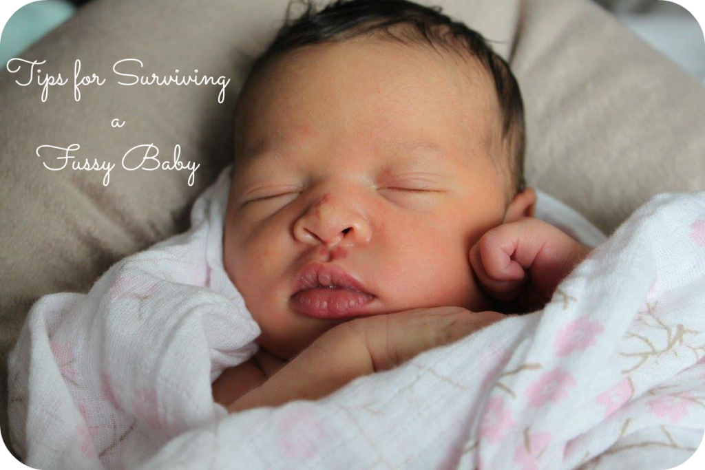 Tips for Survivng a Fussy Baby