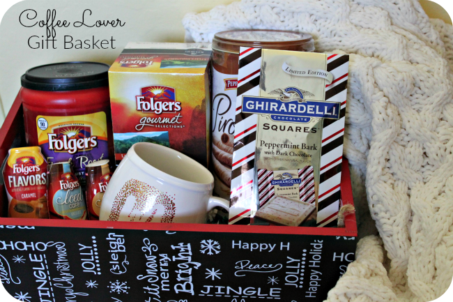 Coffee lovers gift basket the denver housewife Christmas gift ideas for cooking lovers