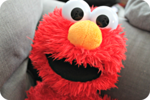A Toddler's Day with Playskool's Sesame Street Play All Day Elmo Toy