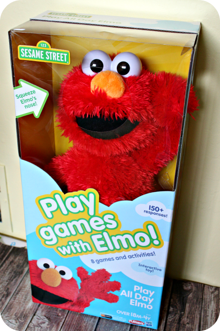 playskool sesame street play all day elmo toy
