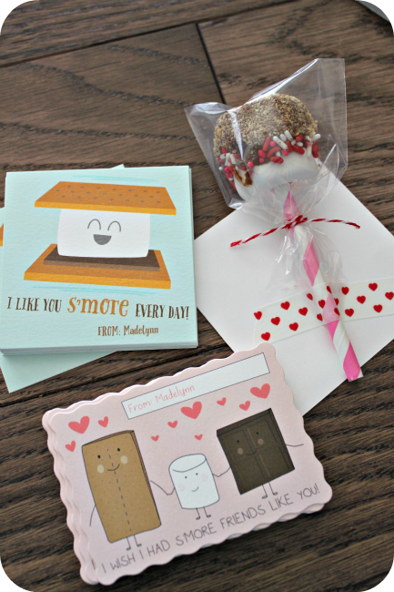 Valentines Card S'mores