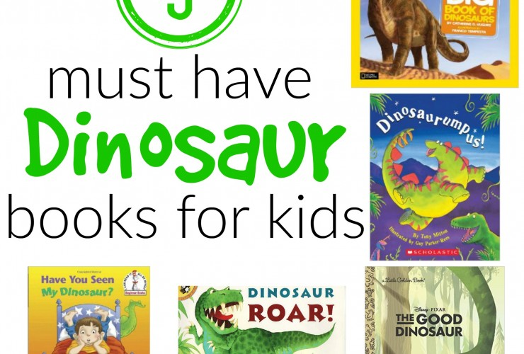 5 Must Have Dinosaur Books for Kids!