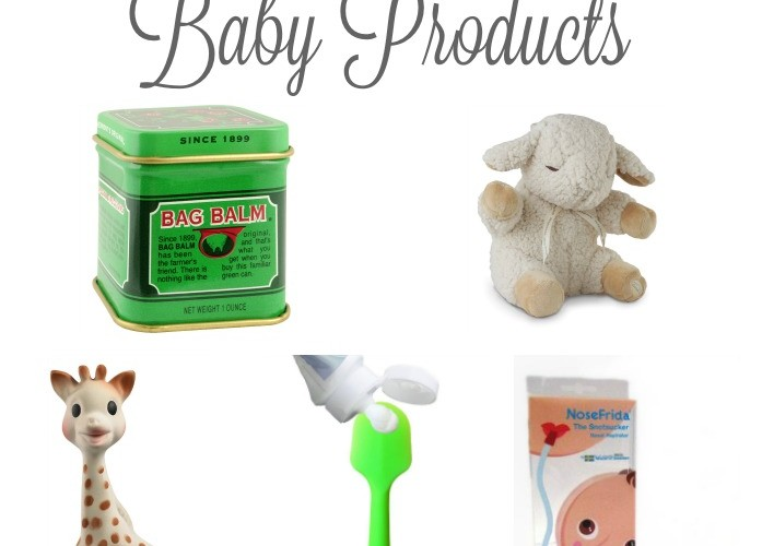 My 16 Must Have Baby Products!