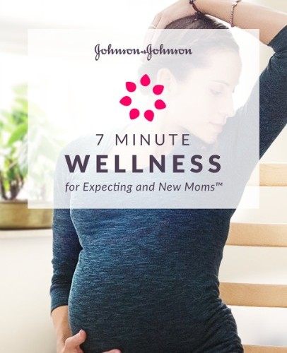 App Alert: Johnson & Johnson 7 Minute Wellness for Expecting and New Moms! #7MinMomApp