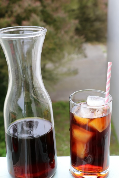 how to make mocha iced coffee at home
