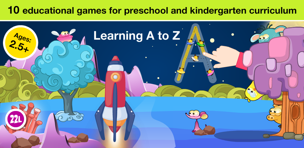Preschool Basic Skills: Space All in One Learning Adventure A to Z