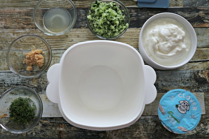 how to make garlic dill dip