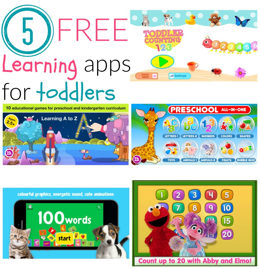 free learning apps for toddlers
