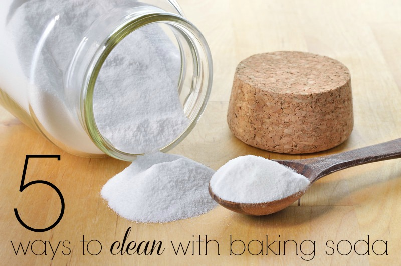 ways to clean with baking soda