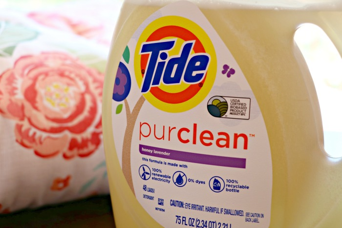 Cleaning Our Laundry with Tide's New Eco-Friendly purclean Detergent!