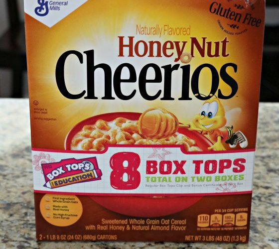 Join Me in Taking the Golden Box Tops Challenge at Costco!