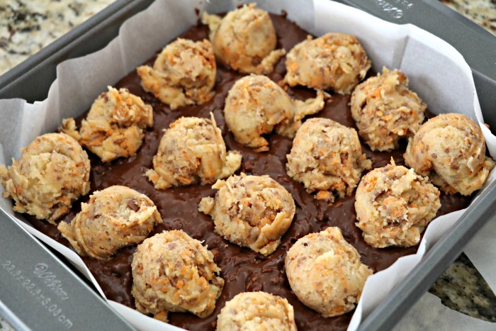 Butterfinger Brownie Cookies Recipe — Dishmaps