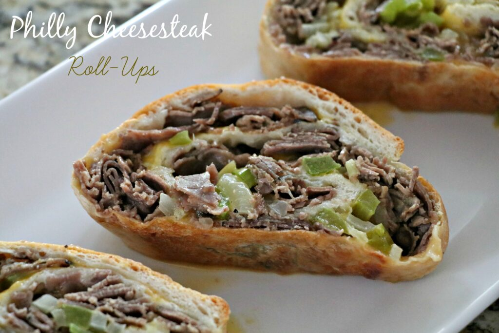 Philly Cheesesteak Roll-ups