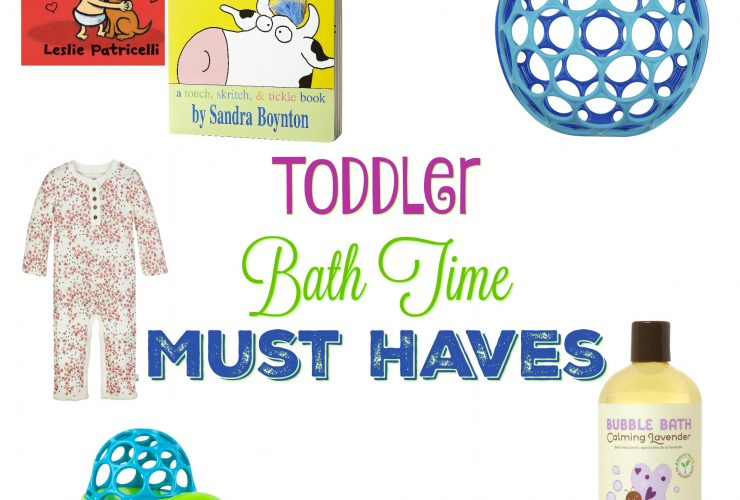 Our Toddler Bath Time Must Haves!