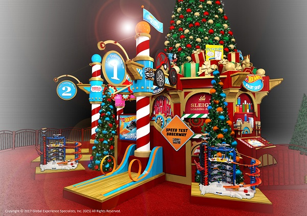 Santa's Toy Factory at Southwest Plaza!