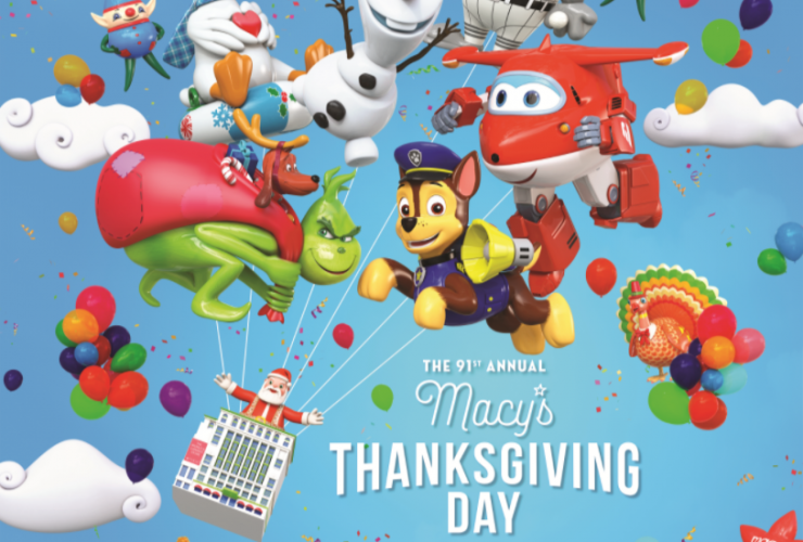 Macy's Thanksgiving Day Parade is a Yearly Tradition! #MacysParade