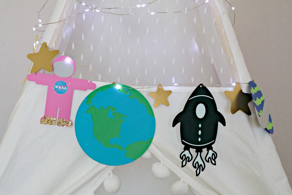 DIY Outerspace Garland