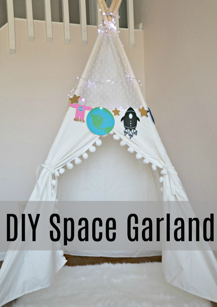 DIY Space theme Garland