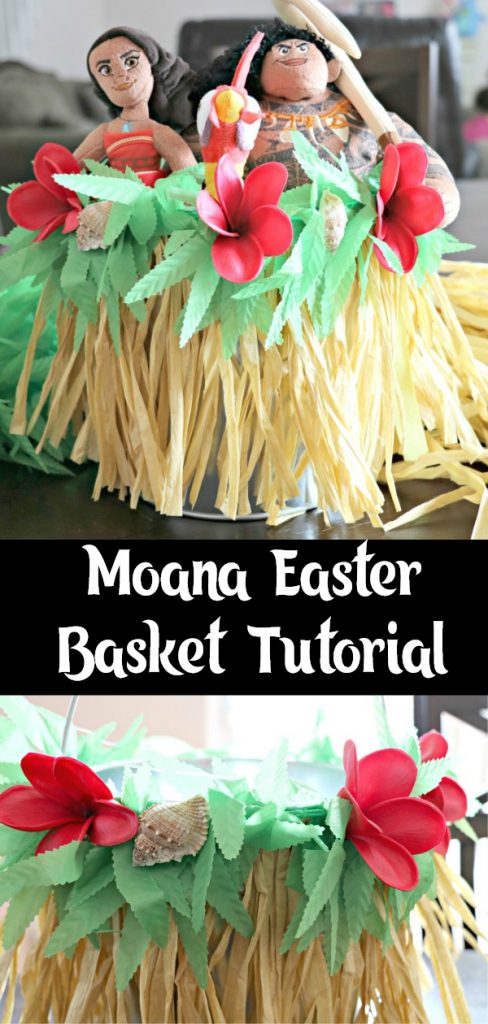 DIY Moana Easter Basket Tutorial