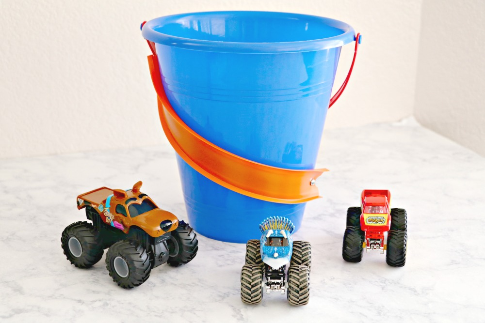 Hot Wheels Easter Basket