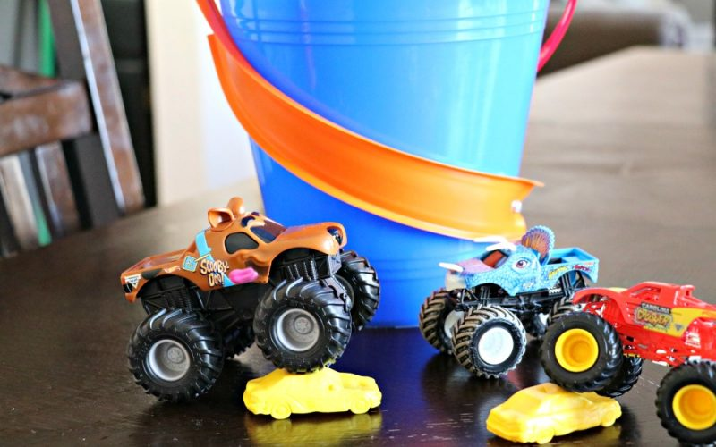 Hot Wheels Easter Basket Tutorial