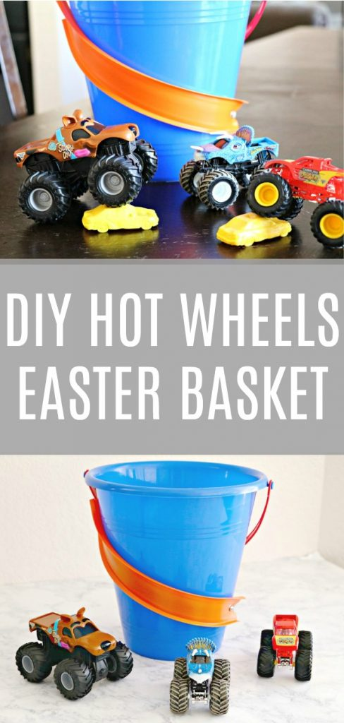 Hot Wheels Monster Truck Easter Basket