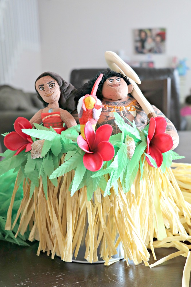 Moana Easter Basket Tutorial
