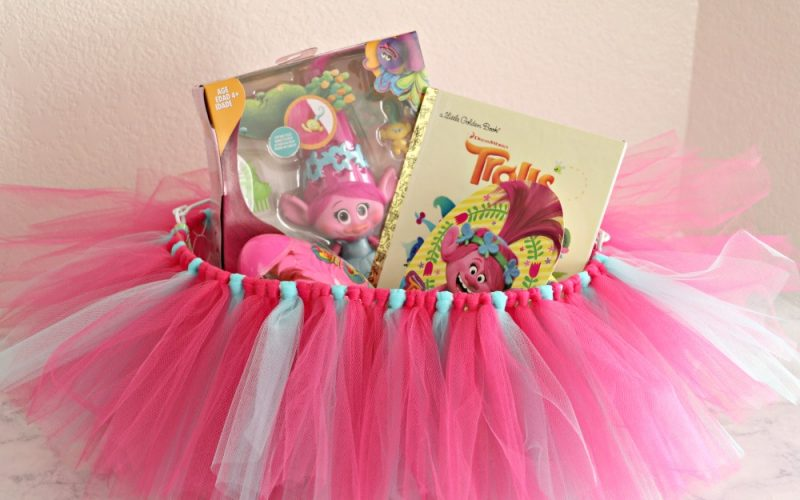 Trolls Poppy Tutu Easter Basket Tutorial
