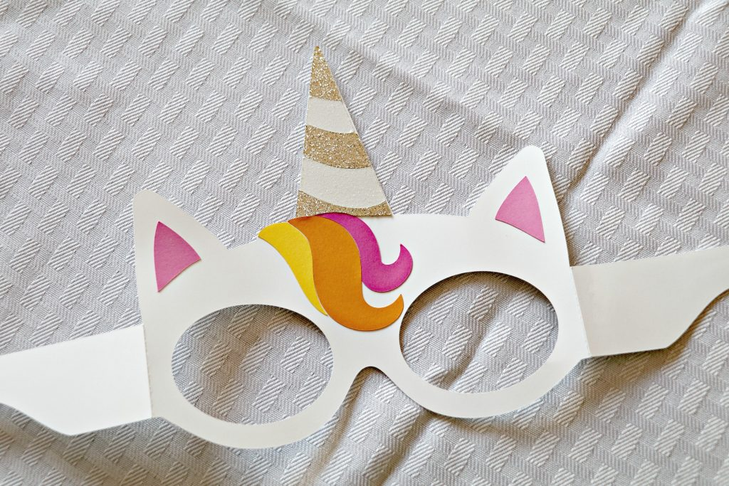 DIY Unicorn Face Mask
