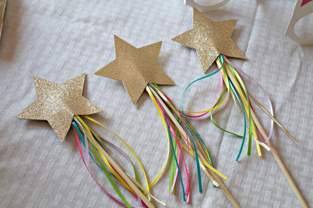 DIY Unicorn Fairy Wands