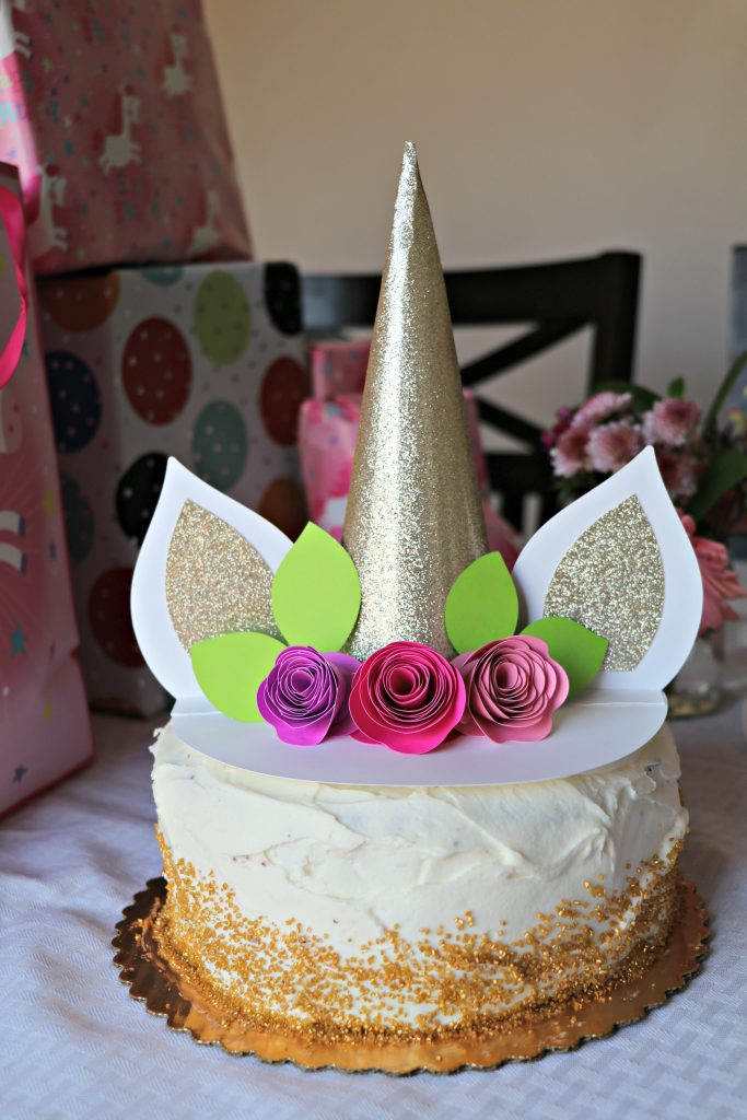 Lori Whitlock Unicorn Cake Topper