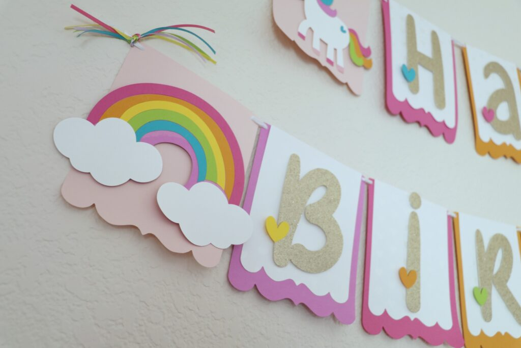Unicorn Birthday Party Decorations