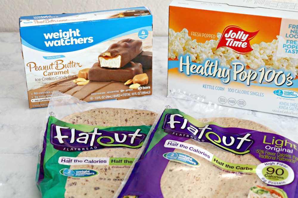 Weight Watchers low point snacks